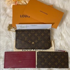 Louis Vuitton Pochette Felicie Monogram